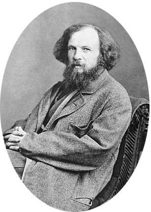 Дмитрий Иванович Менделеев портрет