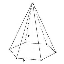 шестиугольная пирамид