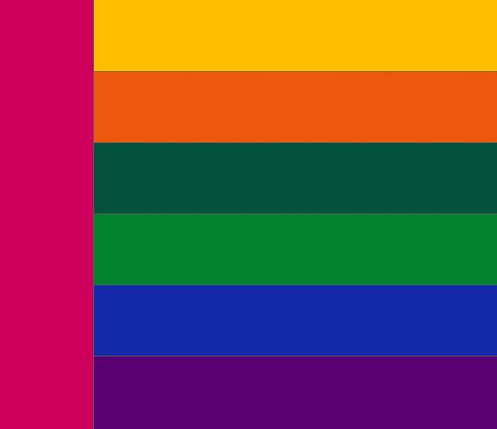 Таблица сочетания цветов. Какие цвета сочетаются с розовым