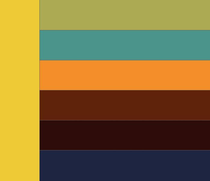 Таблица сочетания цветов. Какие цвета сочетаются с желтым